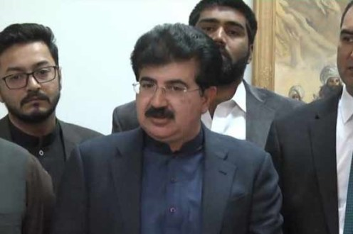 Opposition moved no trust resolution against the Chairman Senate Sadiq Sanjrani