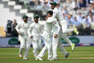 Pakistan wins Lords Test by 9 wickets