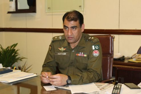 Punjab Chief Minister commended SSP Ops Muntazir Mehdi