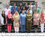 A delegation of COMSATS visit to PSCA