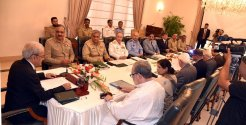 PM Nasir ul Mulk chairs NSC meeting