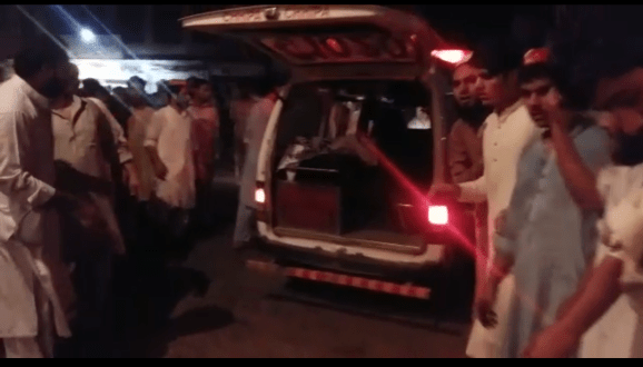 Haroon Biloor martyred with 12 others in a blast