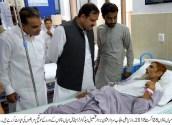 CM Usman Buzdar visit to THQ hospital Mian Channu