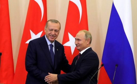Russia and Turkey decides to establish a demilitartised area in Syria