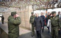 Vladimir Putin visited Tsugol training range