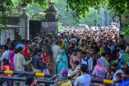Governor House Lahore and Murree gates opened for the masses