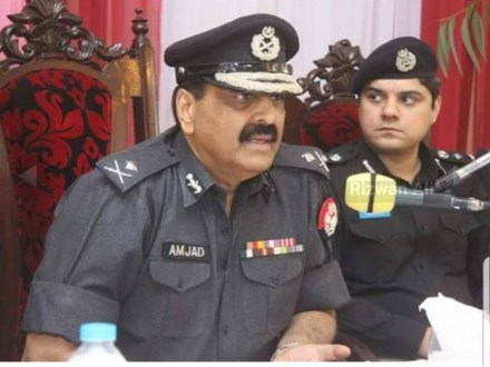 IG Punjab Tahir Ahmad Khan transferred