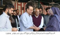 Aleem Khan distributes interest free loan cheques given by Akhuwat