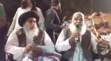 CJP notice the protest staged by TLP