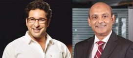 Wasim Akram and Veqar ul Islam has an exclusive session on 'Management Lessons from Cricket'