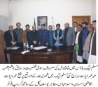 Mehr Omar Yar Hiraj along with colleagues joins PML-Q