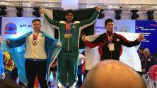 Mustafa Faran Baig set Record in Asian Powerlifting Games