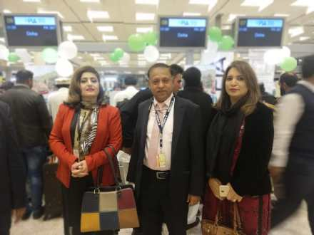 PIA commenced its 2nd flight to Doha from Islamabad