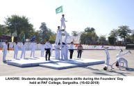 Founders' Day held at Pakistan Air Force College, Sargodha