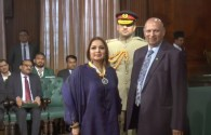 Governor Punjab confers awards to 14 including Babra Sharif