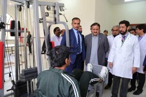 CM Usman Buzdar inaugurates drug addiction center at PIMH