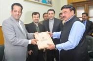 South Korea and Iranian Railways delegations visited Pakistan Railways HQ