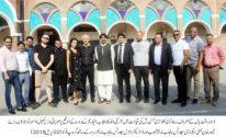 7-member foreign delegation visits Nishtar Park Sports Complex