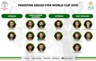 Pakistan announces its 15 members World Cup Squad
