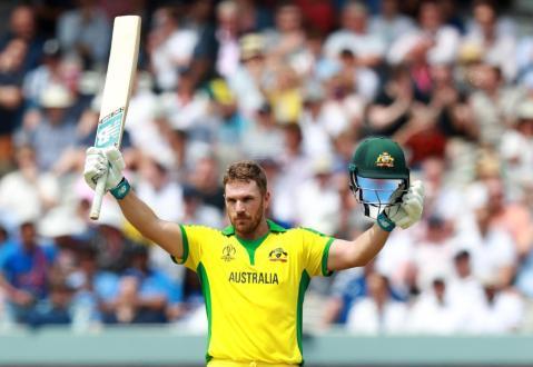 Aaron Finch scored 100 runs as Australia beat England by 64 runs at Lord's
