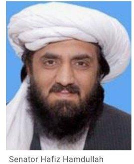 NADRA declared Senator Hafiz Hamdullah as a foreigner