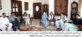 Ch Pervaiz Elahi visited the residence of martyred Khalid Sherdil