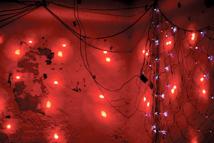 Sesión de darkwave y post punk en el mítico bar Lupita del Raval, actualmente cerrado al público. Barcelona, 2015