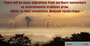 There will be mass migrations