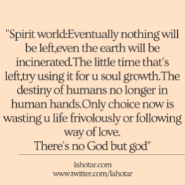 Spirit world:Eventually nothing will be left...
