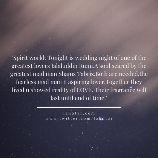 Spirit world: Tonight is wedding night of one of the greatest lovers...