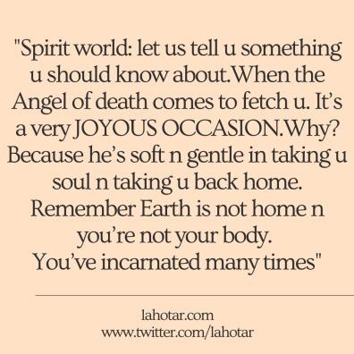 Spirit world: let us tell u something u should know about...