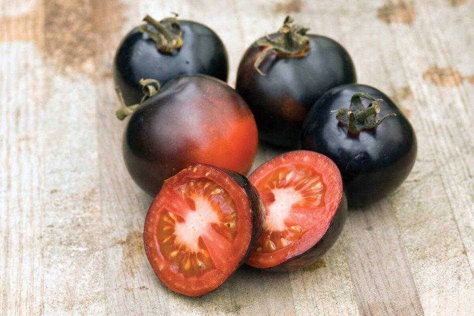 Blue tomato 'Indigo Rose'