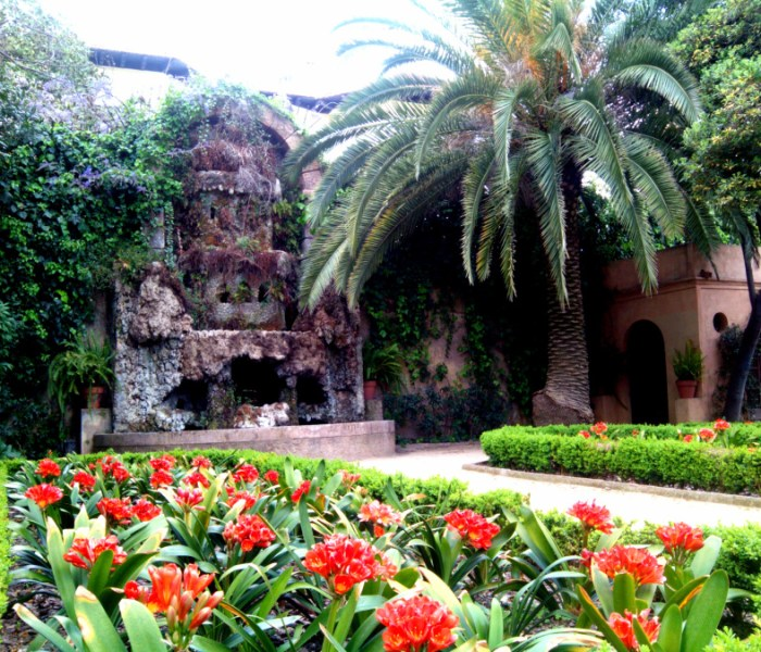 …and yet another of Barcelona's hidden city oases – Jardins de la Tamarita