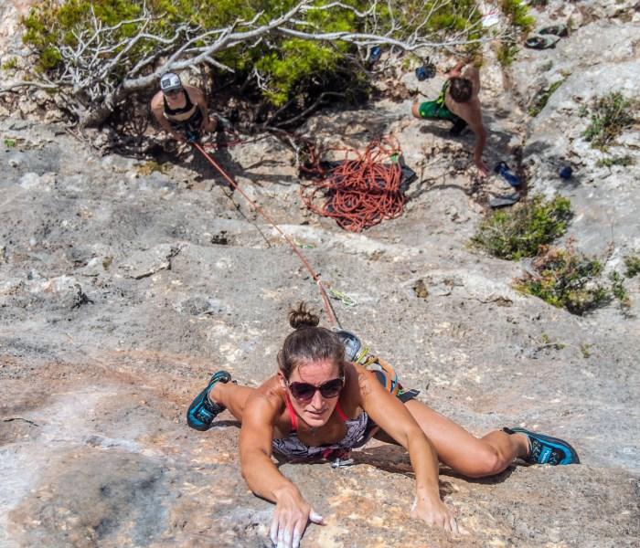 Cala Magraner – Rock climbing in an idyllic cove