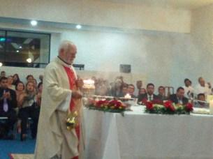 En plena eucaristía