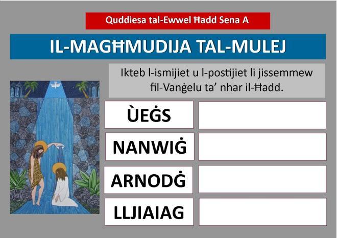 A1 Maghmudija tal-Mulej Poster