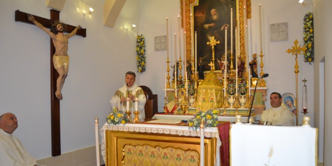 Festa Sant'Anton 2020 Koncelebrazzjoni Mons Isqof (18)