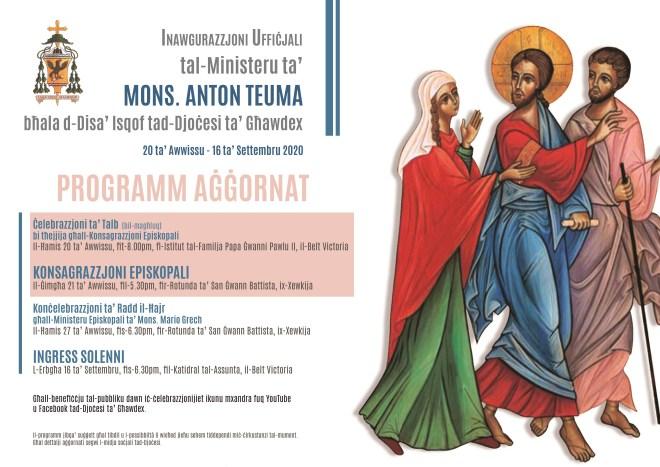 Poster Inawgurazzjoni Ufficjali Aggornat
