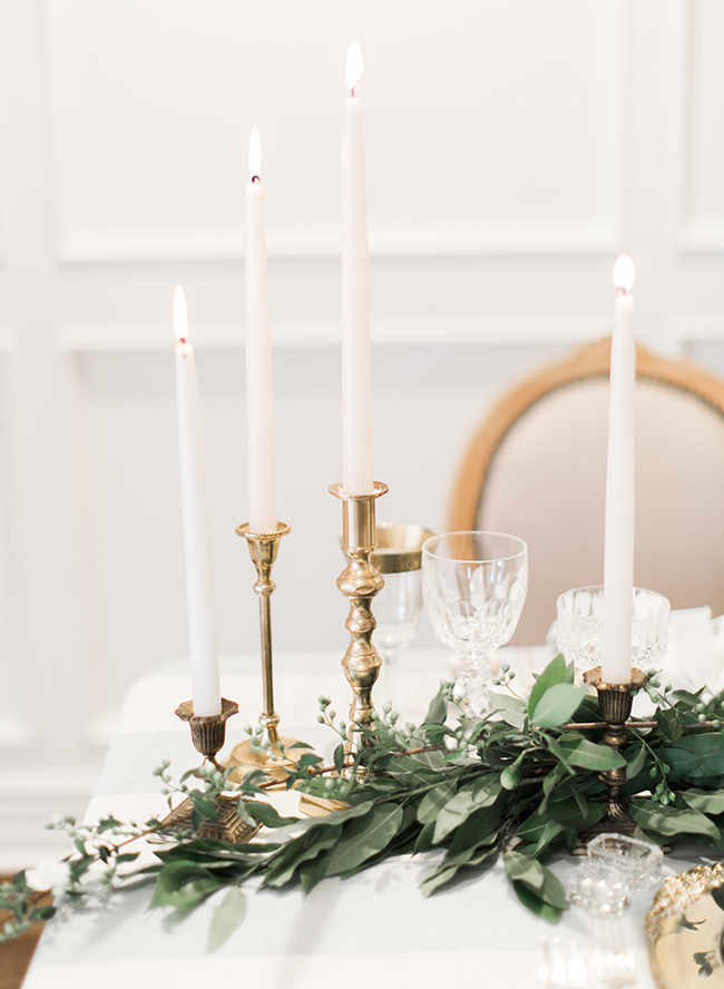 How to Clean Thrifted Brass Candlesticks