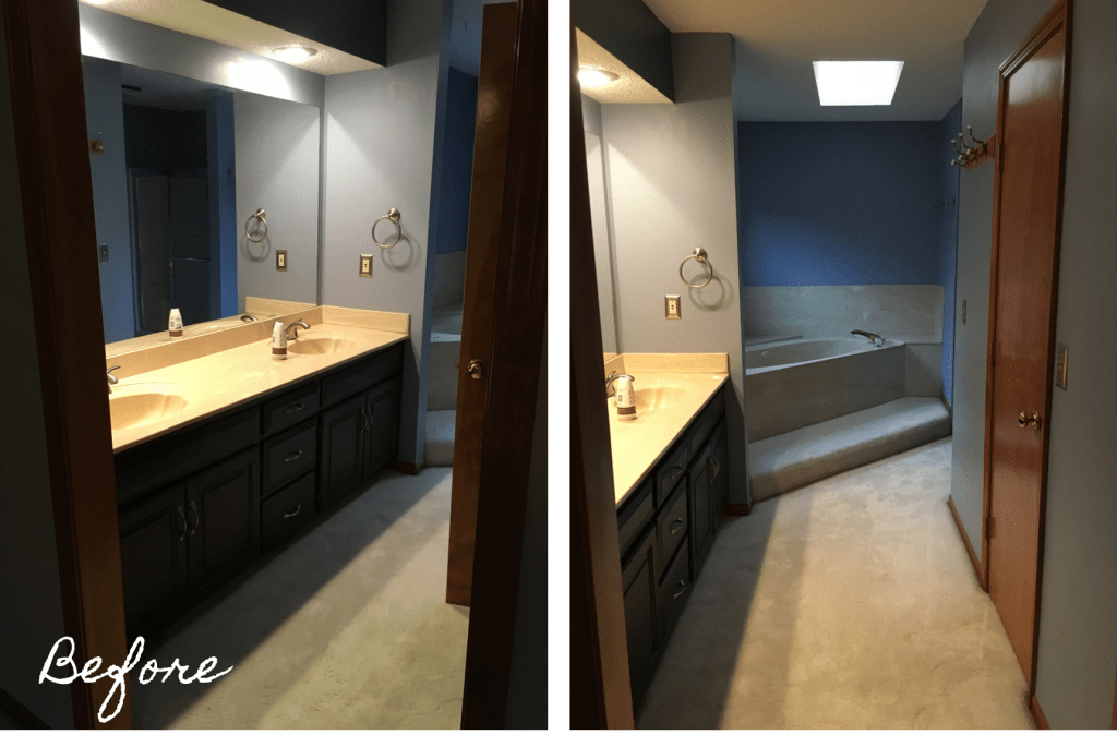 Master Bathroom Renovation Reveal!