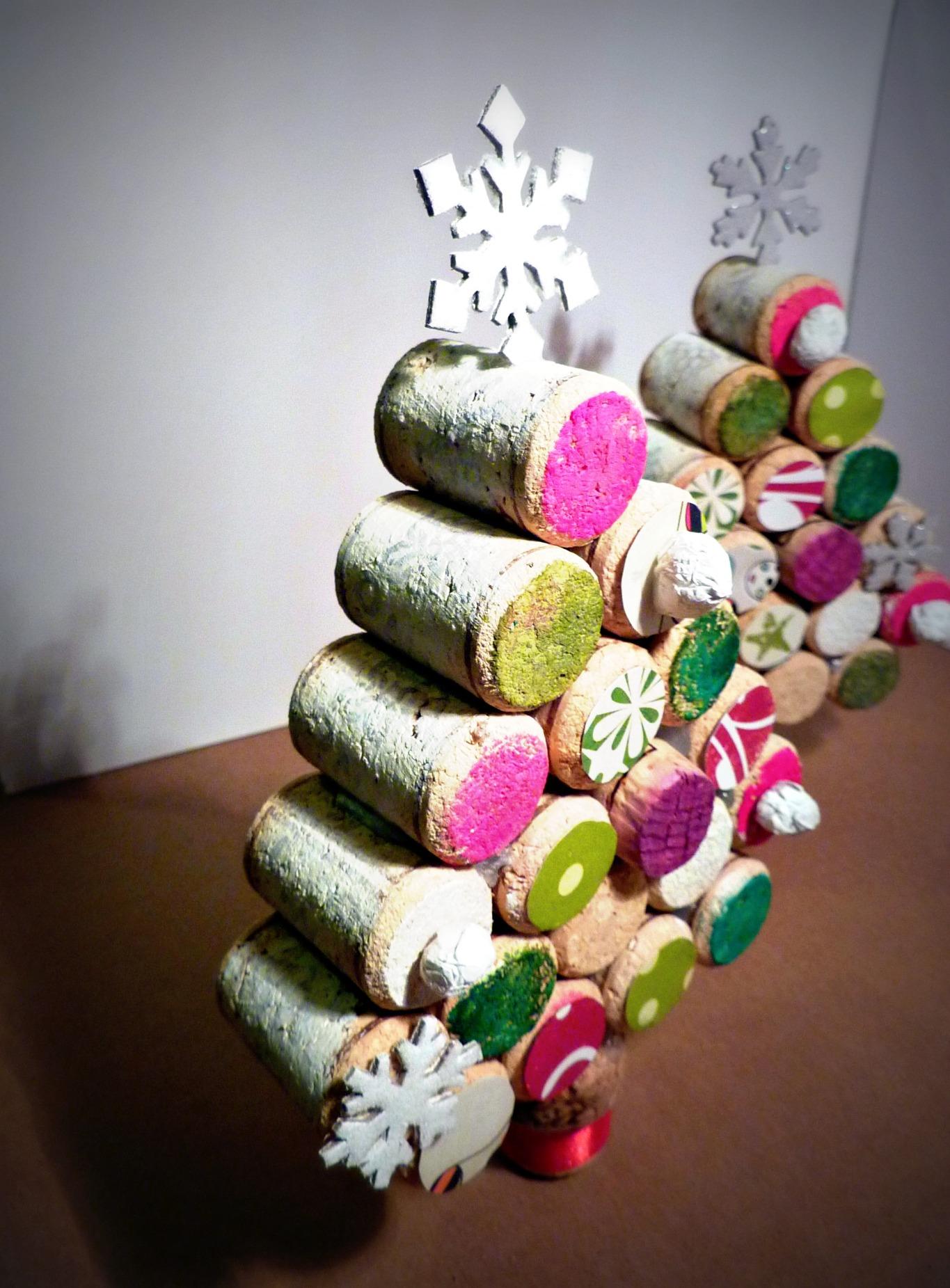 Pagina 1 di 8 della fotogallery lavoretti di natale con tappi di sughero. Albero Di Natale Con Tappi Di Sughero Lailalay