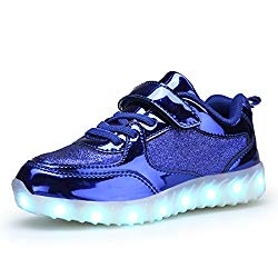 BEGT SMOEYAKIO LED Light Up Shoes for Boys