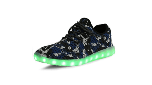 Camouflage Mesh Light Up LED Sport Shoes