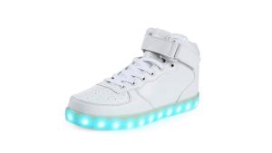 High Top Dance Light Up Sneakers