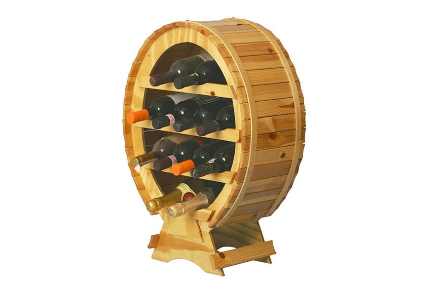 Cantinette vino - Lail Merati: torneria legno a Bergamo