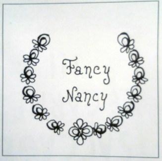 Jour 3 - Fancy Nancy