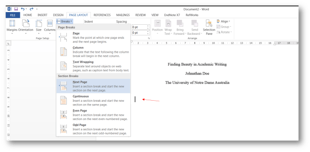 How do I format the running head for my APA essay? - AskUs