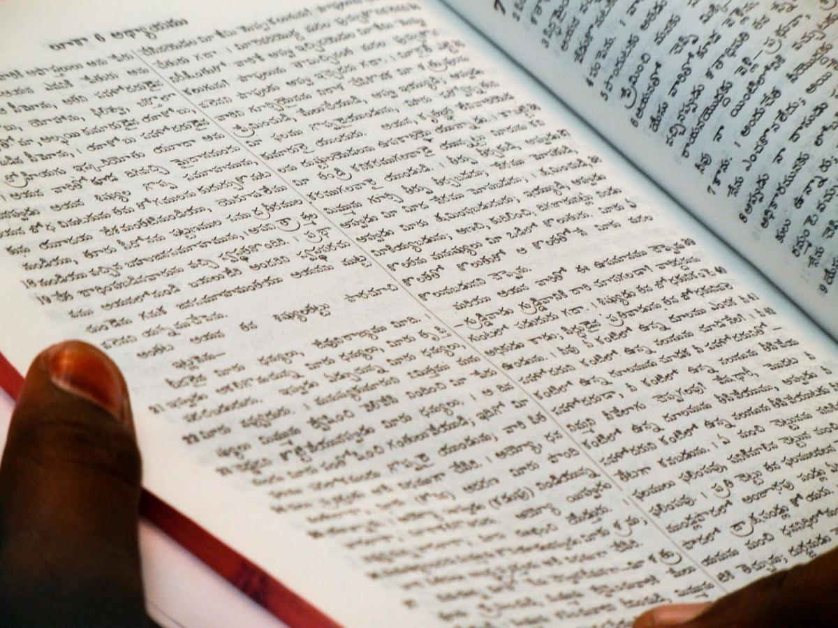 Lenguās libro sanscrito