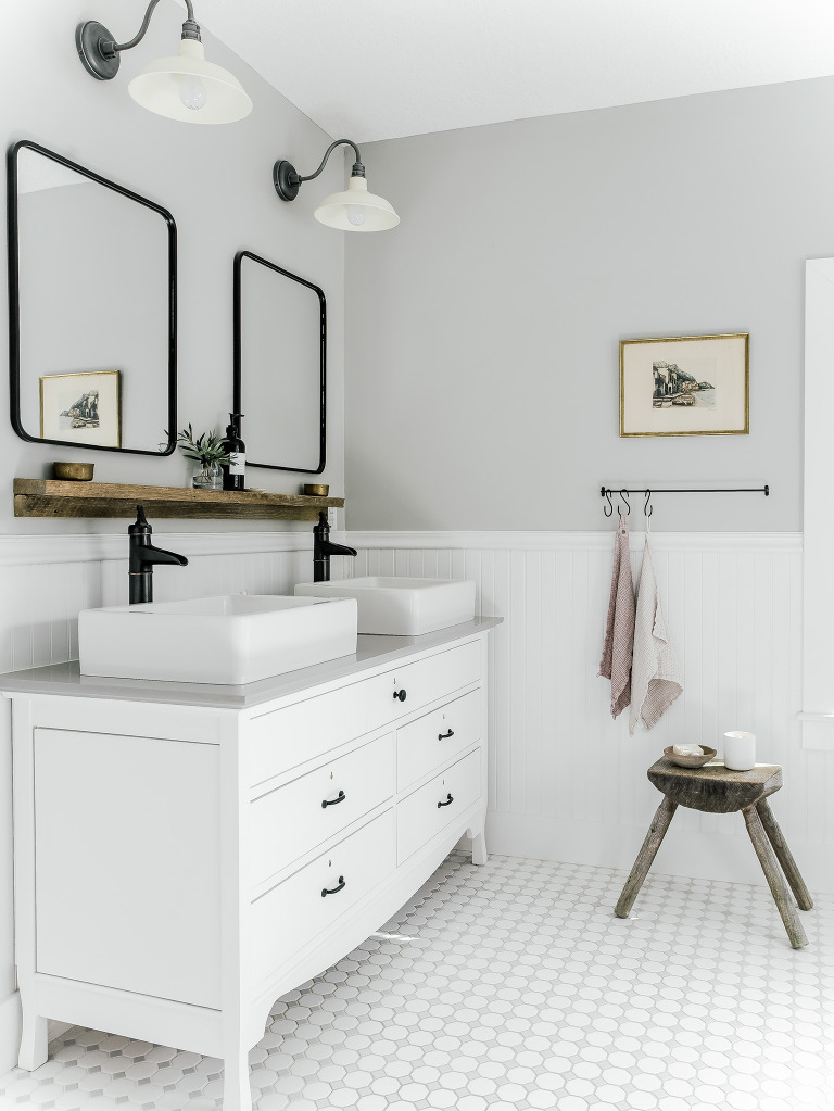 Bathroom Vanity Shelves Laine And Layne