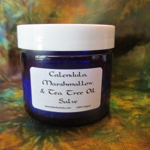 Calendula, Marshmallow, and Tea Tree Oil Salve